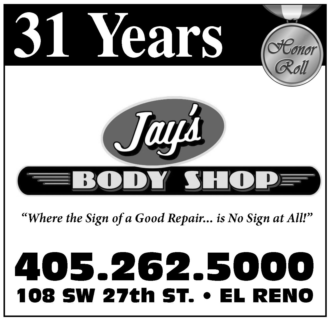 Jay's Body Shop