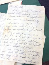 One of the letters James T. Bayne sent home