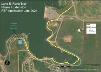 Lake El Reno Trail Extension Map