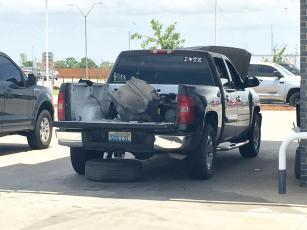 State narcotics agents found 2 pounds of meth hidden in this truck