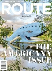 The cover from the latest edition of ROUTE Magazine