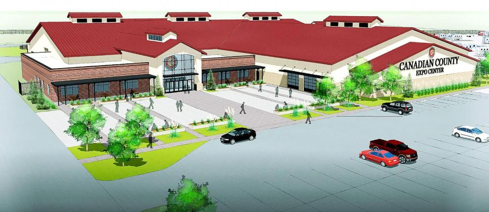 Pictured is an artist rendering of the new Canadian County Fairgrounds. - Courtesy Photo