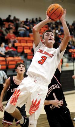 BHS boys basketball_Renbarger leans