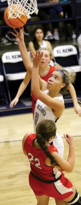 EHS girls basketball_Evans-Thompson will try and help