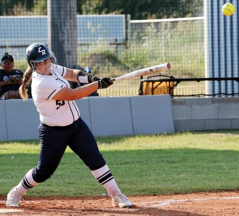 Raley Hartley is hitting .310 with 13 total hits