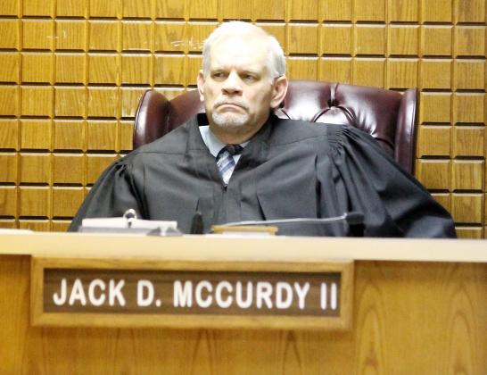 Canadian County District Judge Jack McCurdy