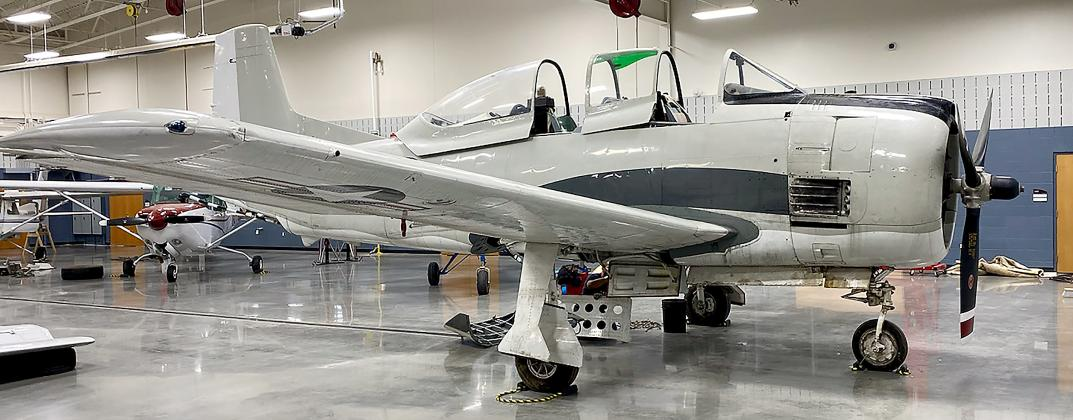 CV Tech's newest student training aircraft is a piece of U.S. military history