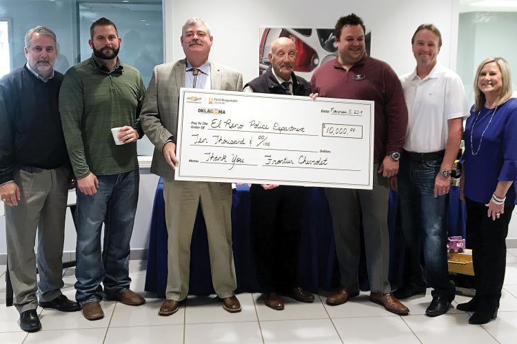 Frontier donation to ERPD