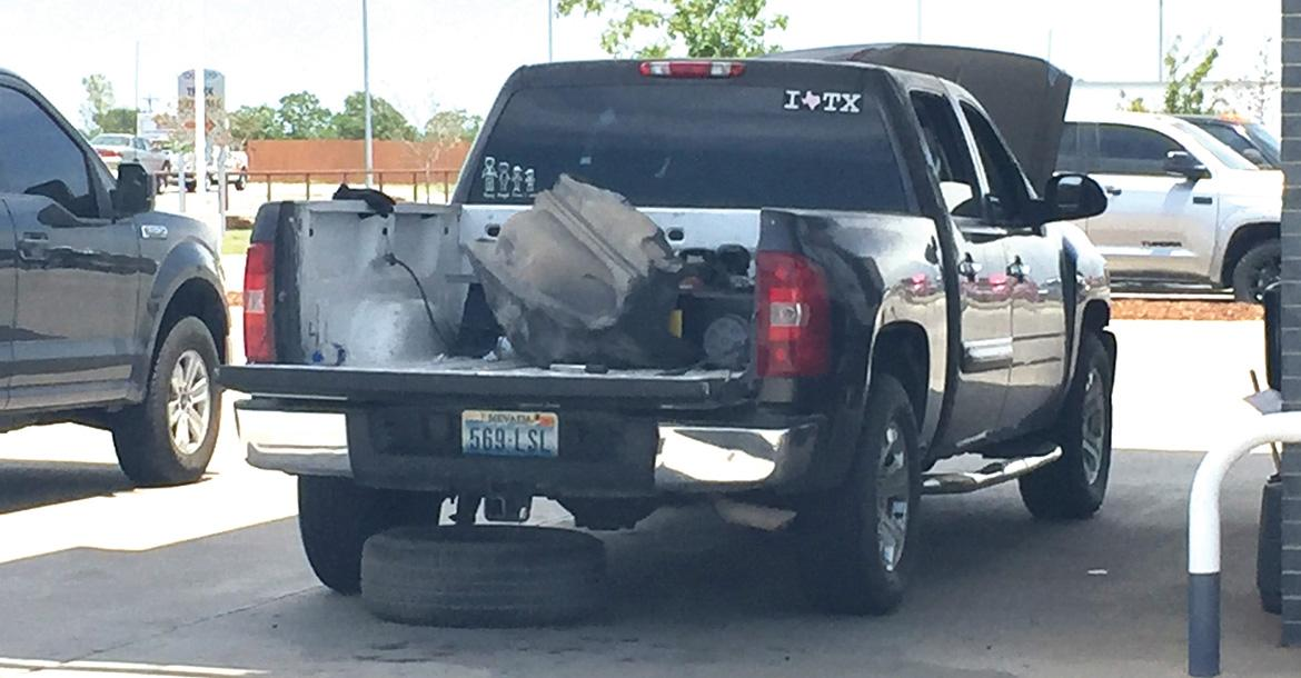 State narcotics agents found 2 pounds of meth hidden in this truck_slideshow