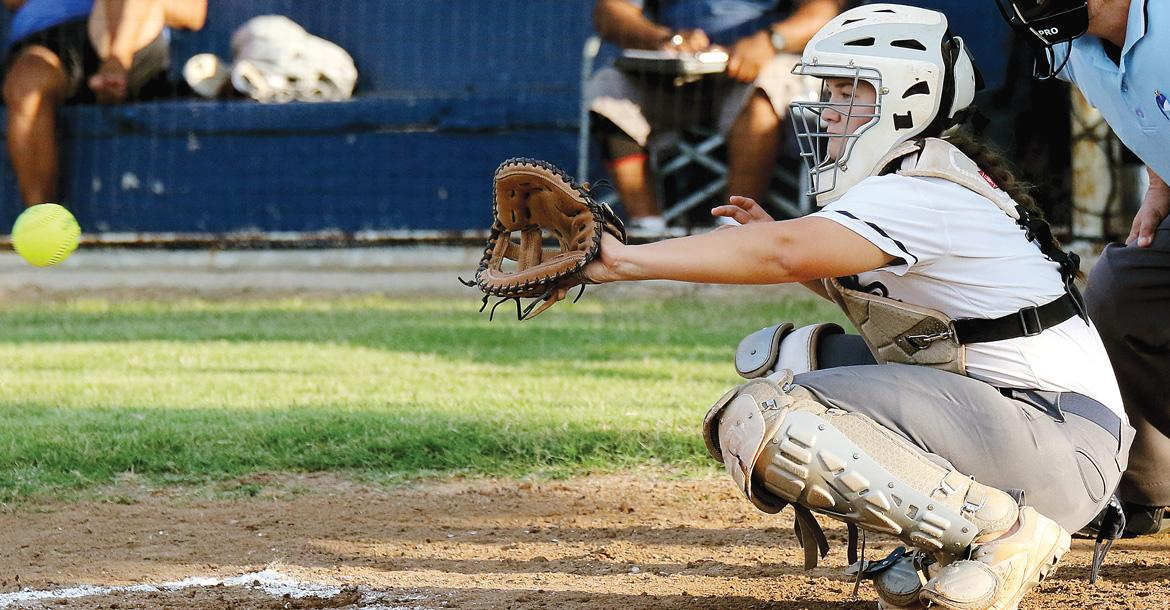 Bailey Brothers eyes a pitch into her glove_slideshow